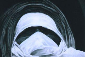 Tableau portrait pastel Touareg- IBN Errimal