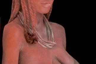 Tableau portrait pastel Tanzanie afrique- Naissance en Tanzanie